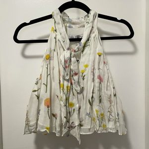*NWT* Wildfox Cropped Floral Swing Tank